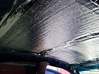 Пенофол в автомобиле для звукоизоляции и теплоизоляции
