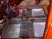 Звукоизоляция и теплоизоляция днища автомобиля